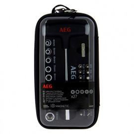 Coffret clé en T + accessoires - 29 pièces - AEG