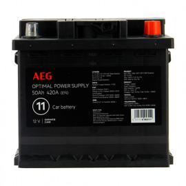 Batterie Optimal power supply n°11 - 420 A - 50 Ah 12 V - AEG
