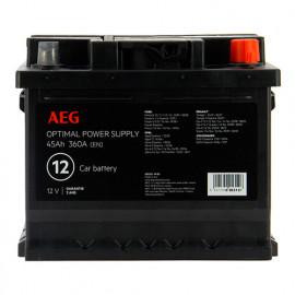 Batterie Optimal power supply n°12 - 360 A - 45 Ah 12 V - AEG