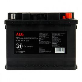 Batterie Optimal power supply n°21 - 510 A - 60 Ah 12 V - AEG
