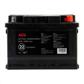 Batterie Optimal power supply n°22 - 480 A - 60 Ah 12 V - AEG