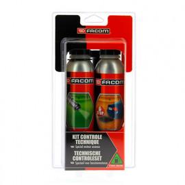 Kit contrôle technique essence 2 x 300 ml - Facom