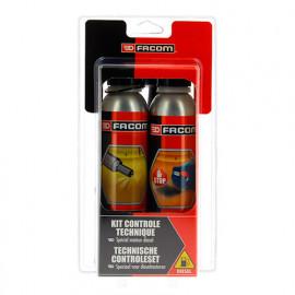 Kit contrôle technique diesel 2 x 300 ml - Facom