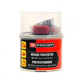 Résine polyester 500 g pour tissu ou mat de verre - Facom
