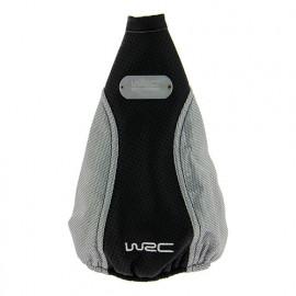 Soufflet de levier de vitesse - noir et gris - universel - WRC