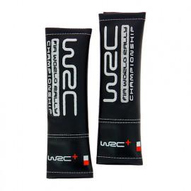 2 Fourreaux de ceinture Similicuir brodé - WRC