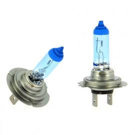 2 Ampoules Xénon Blue light H7 - 55W - Feux de croisement - Feux de route - Feux antibrouillard - WRC