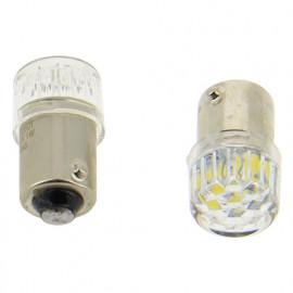 2 Ampoules LED - T8,5 - 12 V - T4W - 6 500 K - Plafonnier - Boîte à gants - Coffre - WRC