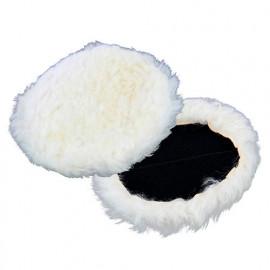 Bonnet de polissage 100 % laine de mouton 180 mm pour polisseuse 008525 - Michelin