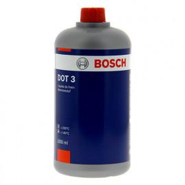 Liquide de freins synthétique DOT 3 - 1L - Bosch