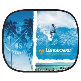 Ecran soleil latéral électrostatique - Longboard