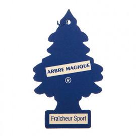 Désodorisant - Sapin - Fraîcheur Sport - Arbre Magique