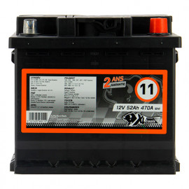 Batterie XLPTools n°11 - 470 A - 52 Ah 12 V - XL Perform Tools