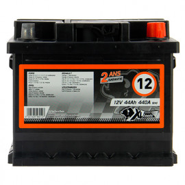 Batterie XLPTools n°12 - 440 A - 44 Ah 12 V - XL Perform Tools