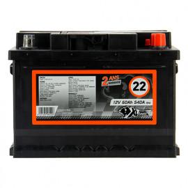 Batterie XLPTools n°22 - 540 A - 60 Ah 12 V - XL Perform Tools