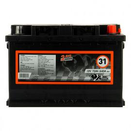 Batterie XLPTools n°31 - 640 A - 70 Ah 12 V - XL Perform Tools