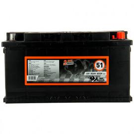 Batterie XLPTools n°51 - 800 A - 95 Ah 12 V - XL Perform Tools
