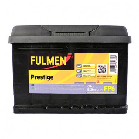 Batterie Fulmen - 540 A - 60 Ah - 12 V - L. 242 x l. 175 x H. 175 mm - Fulmen