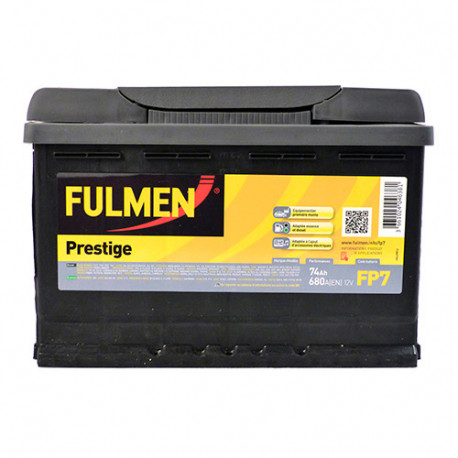 Batterie Fulmen - 680 A - 74 Ah - 12 V - L. 278 x l. 175 x H. 190 mm - Fulmen