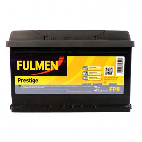 Batterie Fulmen - 670 A - 71 Ah - 12 V - L. 278 x l. 175 x H. 175 mm - Fulmen