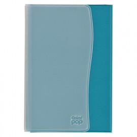Porte-papiers voiture - Bleu - L. 10,5 x l. 15 cm - Color Pop