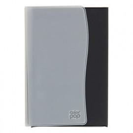 Porte-papiers voiture - Gris - L. 10,5 x l. 15 cm - Color Pop