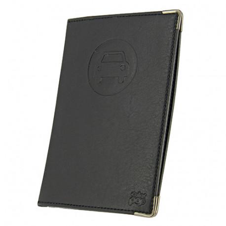 Porte-papiers voiture - Noir - L. 10,5 x l. 15 cm - Color Pop