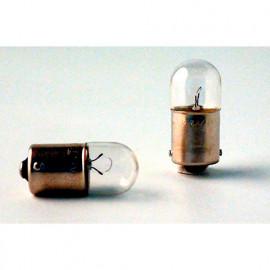 2 Ampoules Vision R5W - 12 V - BA15s - 5W - Veilleuses - Eclairage de plaque - Plafonnier - Boîte à gants - Coffre - Philips