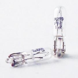 2 Ampoules Vision W1,2W - 12 V - W2x4,6d - 1,2W - Eclairage de plaque - Plafonnier - Boîte à gants - Coffre - Philips