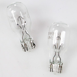 2 Ampoules Vision W16W - 12 V - W2,1x9,5d - 16W - Stop - Feux de recul - Feux de route - Clignotant - Antibrouillard - Philips