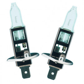 2 Ampoules Extra lifetime H1 - 12 V - P14,5s - 55W - Feux de route - Feux de croisement - Feux antibrouillard - Philips