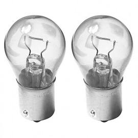 2 Ampoules Extra lifetime P21W - 12 V - BA15s - 21W - Clignotant - Stop - Feux de route - Antibrouillard - De recul - Philips