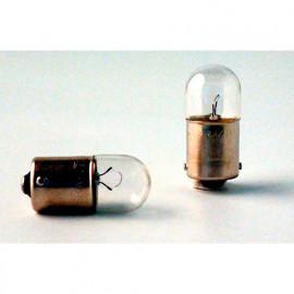 2 Ampoules Extra lifetime R5W - 12 V - BA15s - 5W - Veilleuse - Plaque - Plafonnier - Boîte à gants - Coffre - Philips