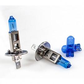 2 Ampoules White Vision H1 - 12 V - P14,5s - 55W - Feux de route - Feux de croisement - Feux antibrouillard - Philips