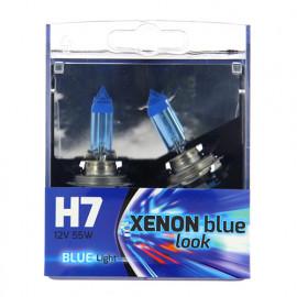 2 Ampoules Xénon plasma H7 - 12 V - PX26d - 5W - Feux de route - Feux de croisement - Feux antibrouillard