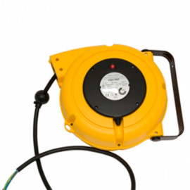 Enrouleur à rappel automatique avec 8m + 1m extérieur de câble H07RNF 4x1,5