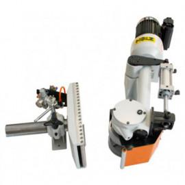 Entraîneur à bois pneumatique 2 rouleaux pour scie à ruban - 75 W 400 V