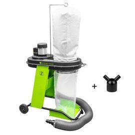 Aspirateur à copeaux de bois 65 litres électrique - 550 W 230 V - Avec démarrage électrique pour machines 2,4 Kw max.