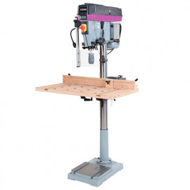 Perceuse colonne PC23V avec table bois - 900 W 230 V
