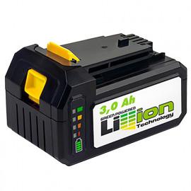 Batterie Li-ion 18 V 3 Ah avec indicateur de charge pour perceuse LI3A 18 Fartools 215521