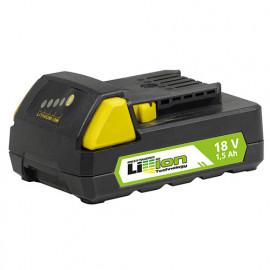 Batterie Li-ion 18 V 1,5 Ah avec indicateur de charge pour perceuse LI3A 18 Fartools 215521 version 2
