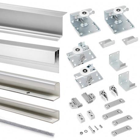 Kit armoire Neco 2 portes avec profils Styl