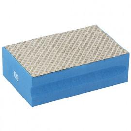 Cale à poncer manuelle diamantée Grain 60 L. 94 x 58 mm pour céramique et pierres naturelles - 11200096 - Sidamo