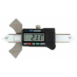 Calibre de soudeur digital - Angles de 60°, 70°, 80°, 90°