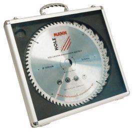 3 lames de scie circulaire D. 300 x 30 mm x Z28 - 48 et 72 en valisette alu KSB300SET