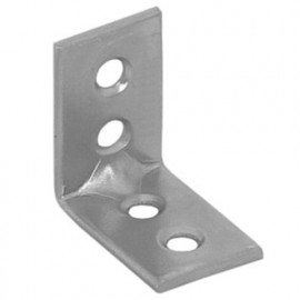 Console de renfort galvanisée - 30 x 30 x 14 x 1,5 mm