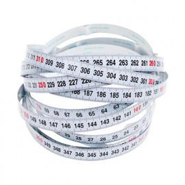 Ruban à mesurer auto-adhésif , lecture Gauche à Droite - 3,5 mètres