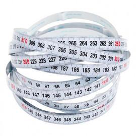 Ruban à mesurer auto-adhésif ,lecture Droite à Gauche - 3,5 mètres