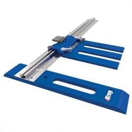 Guide Rip-Cut métrique pour scie circulaire - 76,2 x 762 mm