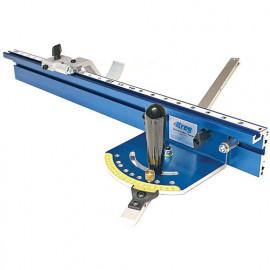 Système de jauge d'onglet de précision pour table - 610 mm